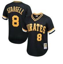 Authentic Mitchell & Ness Pittsburgh Pirates #8 Baseball Jersey New Mens $90