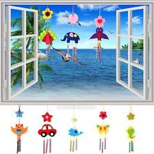 DIY 3D Wind Chime Kids Handmade Home School Crafts Kit Educational Toy Xmas Gift