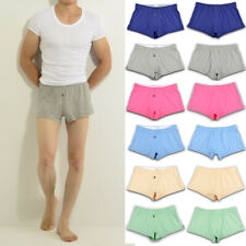 1 Pcs Mens Cotton Underwear Underpants Boxer Brief Pouch Shorts Trunks M L XL