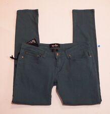 Women Skinny leg pants Size 9/10 Green Nostic
