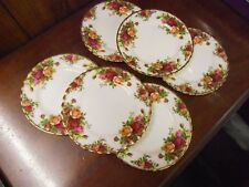 ROYAL ALBERT COUNTRY ROSES 160mm SIDE PLATE X 6