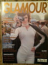 GLAMOUR French n°52 Avril 93 Kim Williams Chiara Mastroianni Mick Jagger Mode