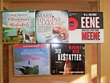 Hörbücher 5 Stück im Paket Krimi Thriller