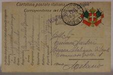 POSTA MILITARE UFFICIO C. L. 18.4.17 FRANCHIGIA (14a CENTURIA DEL GENIO)#XP521A