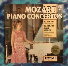 Ingrid Haebler LP Mozart Piano Concertos No.21 & No.19  PHILIPS Import HOLLAND