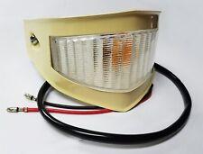 1953 1954 Ford Pickup Truck Parking Lamp Light + Turn Signal * CREAM RIM