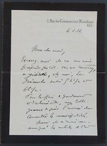 Président Raymond POINCARE autographe #4