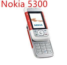 Original Nokia 5300 Unlocked 2G GSM 900/1800/1900 Mobile Cell Phone