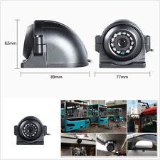 12-24 V 4 broches Heavy Duty Voiture SUV bus CCD vue latérale Couleur Caméra 12 IR étanche