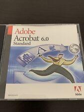 Adobe Acrobat 6.0 Standard Sealed w/ Serial Number