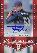 TYLER WAGNER 2012 ELITE EXTRA EDITION FRANCHISE FUTURES #52 AUTO #174/481 BB1865