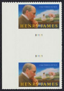 #5105 Henry James, Horizontal Gutter Pair [1], Mint **ANY 5=FREE SHIPPING**