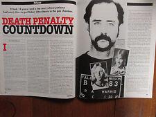 July, 1992 Crime Beat Magazine(ROBERT ALTON HARRIS/DONALD TRUMP/JOSEPH WAMBAUGH)