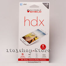 Zagg Invisible Shield HDX Screen Protector for Samsung Galaxy S6 - Full Body