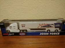 2018 Wave 5 John Force Peak Funny Car Hauler 1/64 NASCAR Authentics Diecast MIP