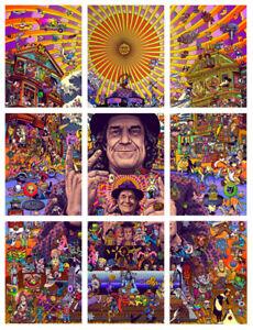 Blotter Art The Passion of Mark McCloud signed 9 Sheet 10,800 Rosenfeld Rafti
