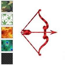 Bow Arrow Archery Decal Sticker Choose Pattern + Size #3158