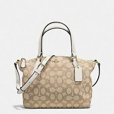 Coach F57830 Mini Kelsey Satchel In Outline Signature MSRP $225 New with Tags