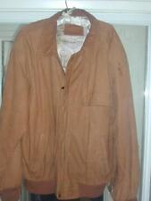 MARLBORO MAN Official 50's-60's Style! Rust SUEDE Jacket + Hidden Cig Pocket! L