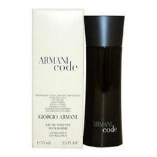 Armani Code By Giorgio Armani 2.5 oz Spray Bottle New Men Cologne Black