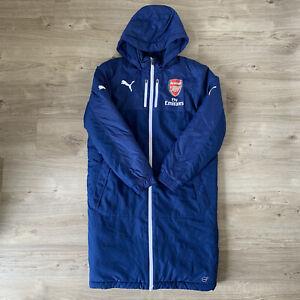 Arsenal Puma Long Jacket Size Small