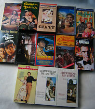 VHS Classic Romantic Oldies Lot Humphrey Bogart Anthony Andrews Rock Hudson