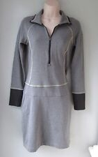 Columbia Global Adventure Zipper Dress Jersey Knit Cotton Women XS Omni-Wick