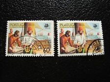 PORTUGAL - timbre yvert et tellier n° 1752 x2 obl (A28) stamp (T)