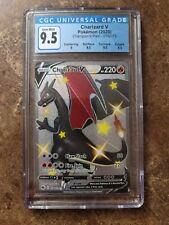 Pokemon Champions Path Shiny Charizard V Card  079/73 CGC 9.5 GEM MINT  PSA 10..