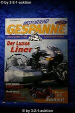 Motorrad Gespanne Nr.51 3/99 BMW K 1200 LT Moto Guzzi