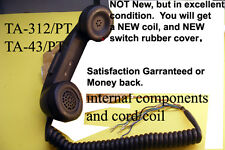 TA-312/PT TA-43/PT used H-60/PT Handset excellentCondition New cord,Switch Cover