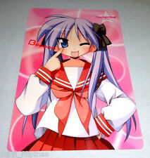 ANIME:LUCKY STAR - Kagami,Konaya Plastic Fan,Japan Import,J-POP,Pencil Board
