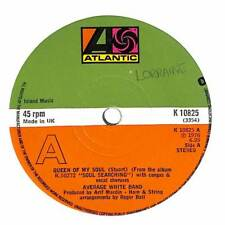 """Average White Band - Queen Of My Soul - 7"""" Record Single"""
