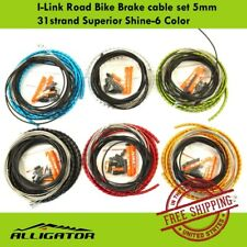 Alligator I-Link Road Bike Brake cable set 5mm 31 strand Superior Shine-6 Color