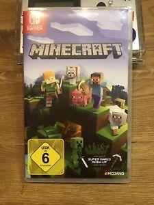 Minecraft Nintendo Switch Neuwertig! Blitzversand!