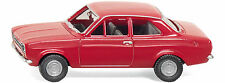 WIKING Ford Escort (Red) 1/87 HO Scale Plastic Model NEW, RARE!