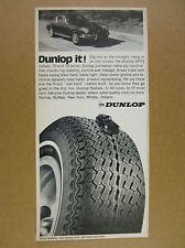 1971 Porsche 911 photo Dunlop Tires vintage print Ad