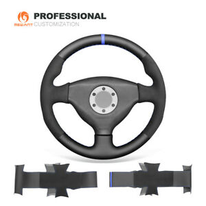 Leather Synthetic Suede Steering Wheel Cover for MitsubishiLancerEVOVI6 V5