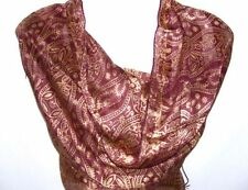 Scarf Paisley Unbranded 100% Silk Scarves & Wraps for Women