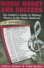 Music, Money & Success   Insider's Guide Making Money - Music Business BOOK