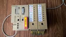 PLC SIEMENS  6ES5-100-8MA02  24VDC + 6ES5-421-8MA12 8x24V DC + 6ES5 441-8MA11