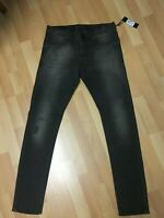 NWT Mens Diesel DNA TEPPHAR Stretch Denim 0674U Dark Grey Slim W31 L32 H6