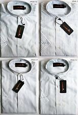 Men's Short Sleeve Cotton Striped Casual Shirts & Tops