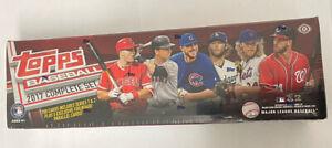2017 Topps Baseball Factory Set Sealed Complete Box Hobby Edition Bonus Pack