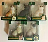 NEW Limited Edition Collector's Series complete set of 5 ornaments