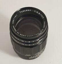 Asahi Kogaku Penatx Takumar 105mm f2.8 Pre-set lens BLACK!