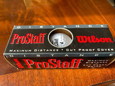 Vintage wilson prostaff golf balls Pack Of 3