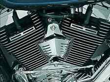 Cover Clacson Cromato V-Shield Harley Davidson sportster dyna softail street cvo