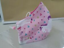 3 Face Mask/Cover Handmade, Washable Girls.