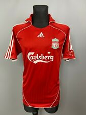 LIVERPOOL 2007 2008 HOME SHIRT FOOTBALL SOCCER JERSEY ADIDAS SIZE L
